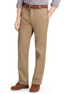 Бежевые брюки хаки