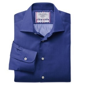 Сиреневая рубашка в business casual стиле