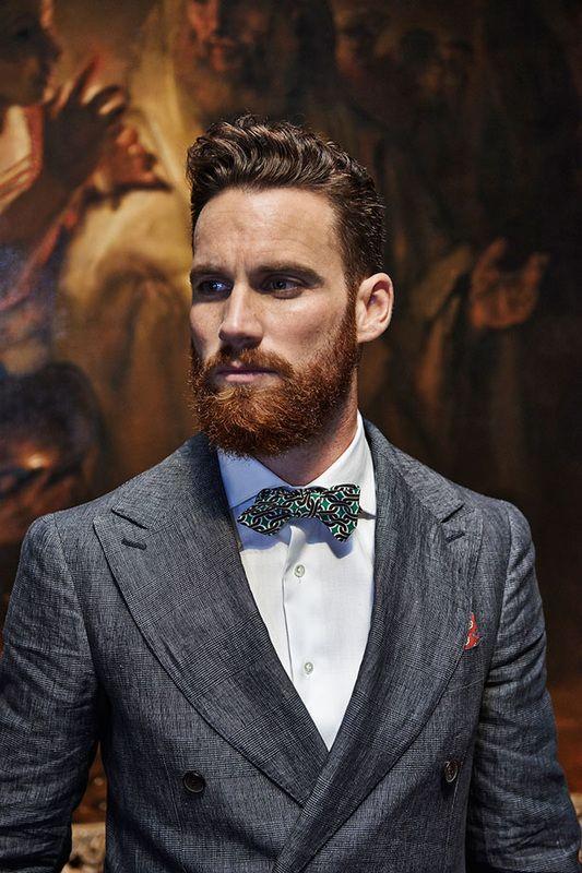 Как отрастить бороду, одномесячная борода