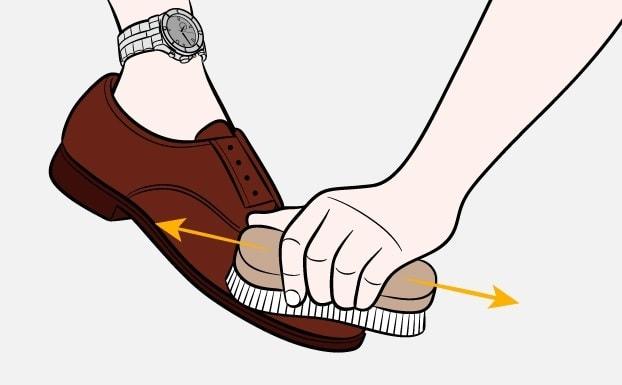 Как почистить обувь-Шаг-4
