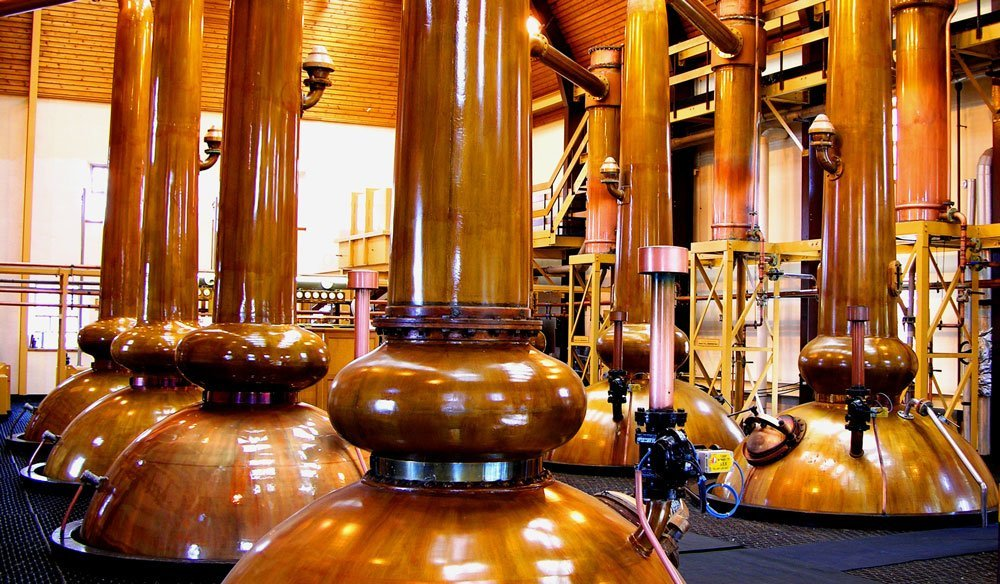 Производство виски, дистилляция