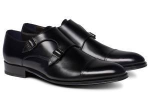 Черные туфли монки