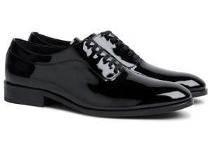 Черные туфли под смокинг