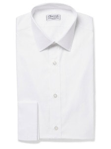 Charvet_белая классическая рубашка