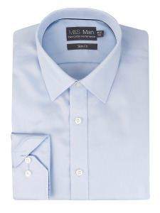 Marksandspencer_голубая классическая рубашка