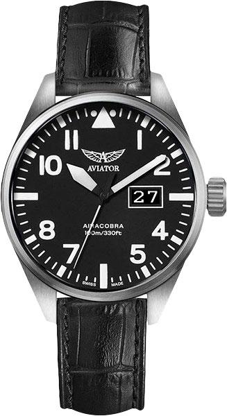 Мужские швейцарские наручные часы Aviator V.1.22.0.148.4