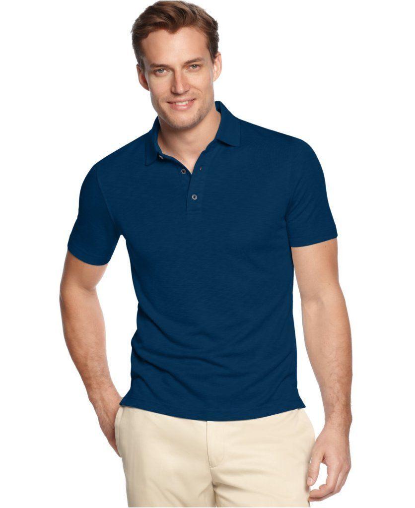 Рубашка Поло, синего цвета