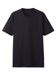 Uniqlo_черная футболка