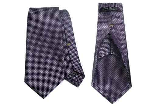Многослойный шелковый галстук