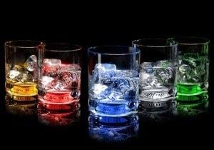 абор из бокалов для виски