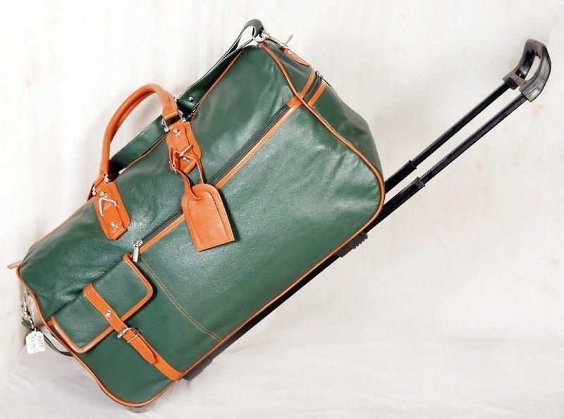 Тяжелая дорожная сумка