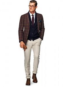 Smart casual костюм со спортивным пиджаком