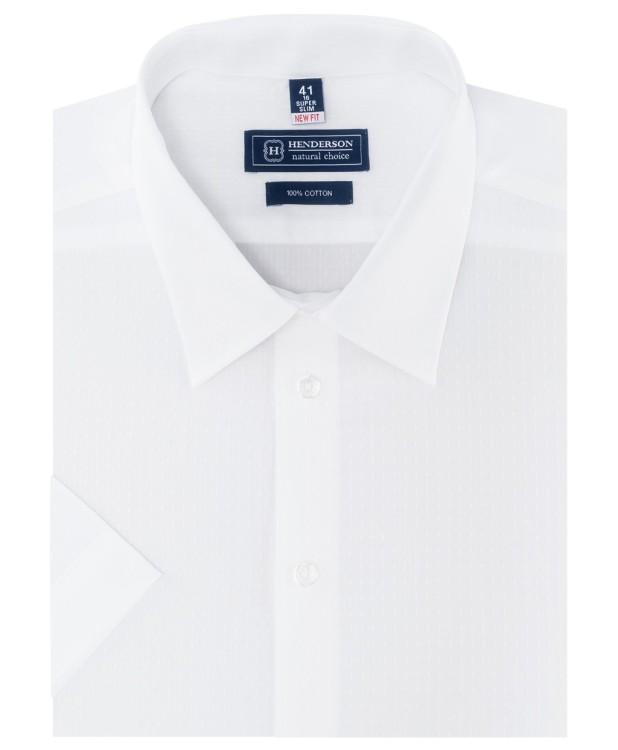 Белая рубашка с узором