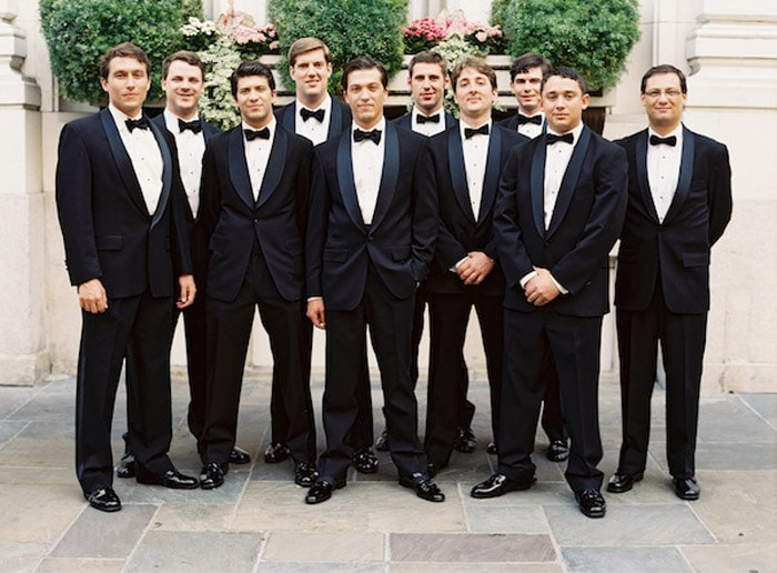 Свадьба в стиле Black Tie