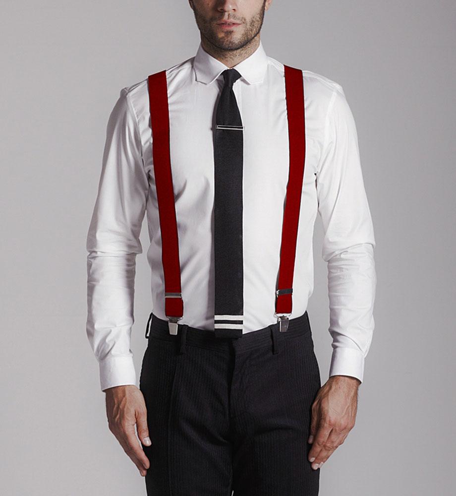 Как носить мужские подтяжки фото