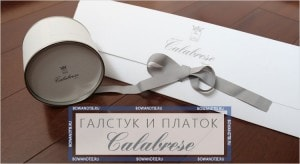 Галстук и платок calabrese (миниатюра)