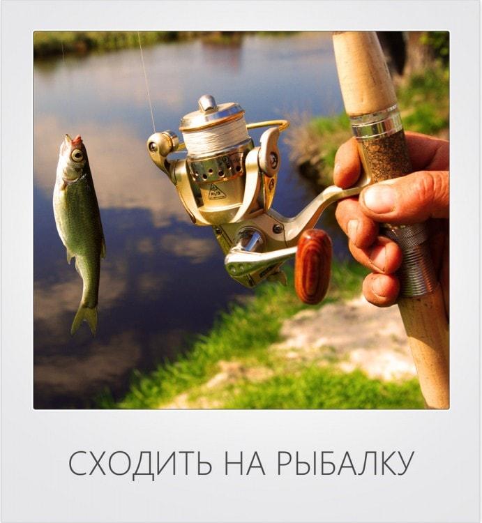 Сходить на рыбалку