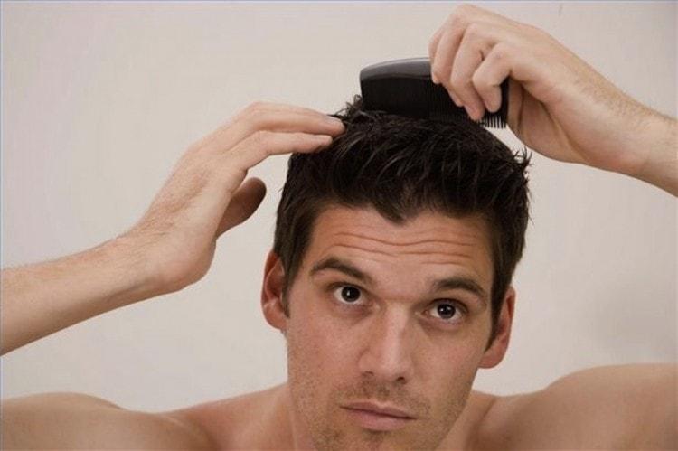 Аккуратней пользуйтесь расчёской