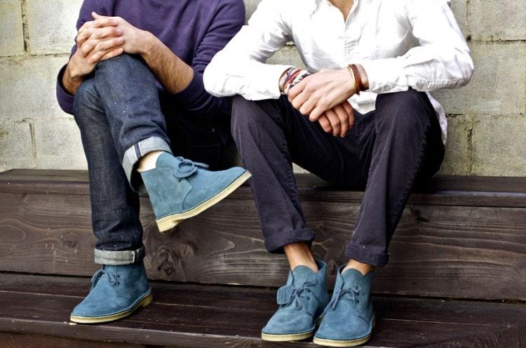 Подвернутые джинсы и чиносы