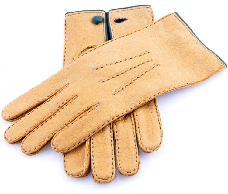 Мужские перчатки из бараньей кожи