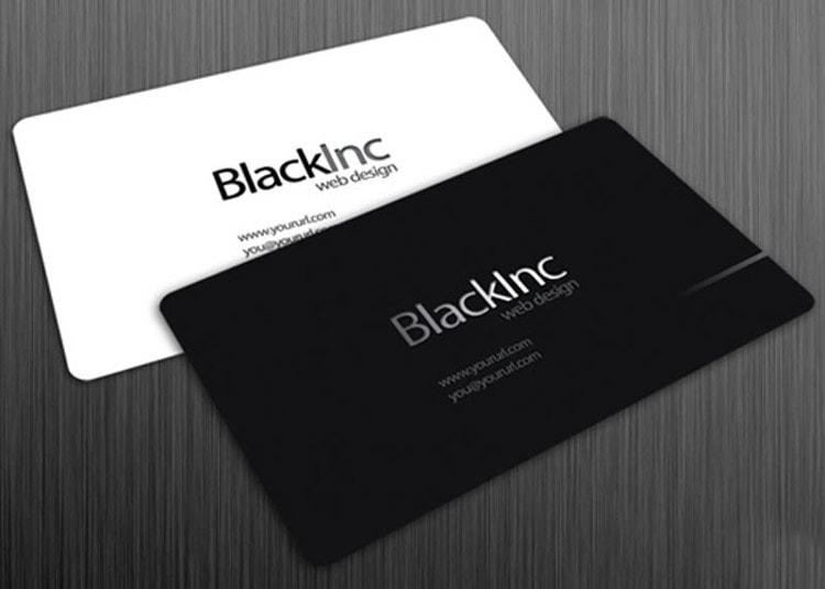 Белый и черный цвет идеально подойдет практически к любой сфере деятельности