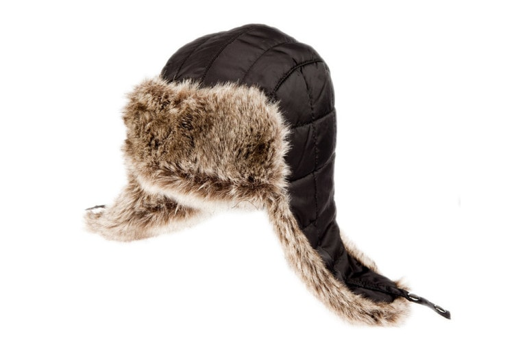 Шапка-ушанка защитит ваши уши и шею от холода