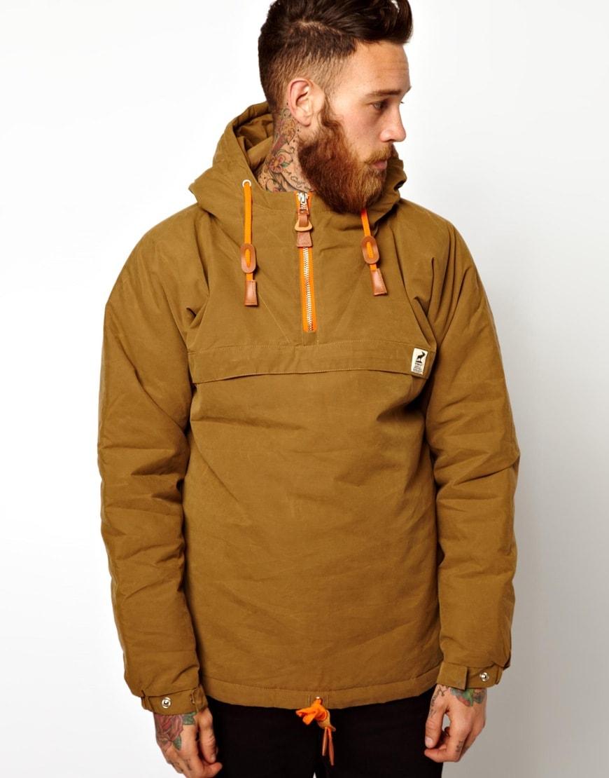 Куртка Анарок бежевого цвета
