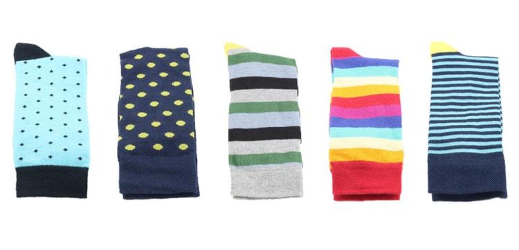 Веселые цветные носки