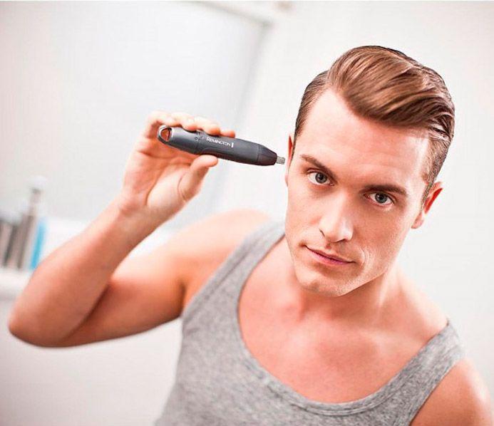 Триммер с круглой головкой также подходит для стрижки волос в ушах