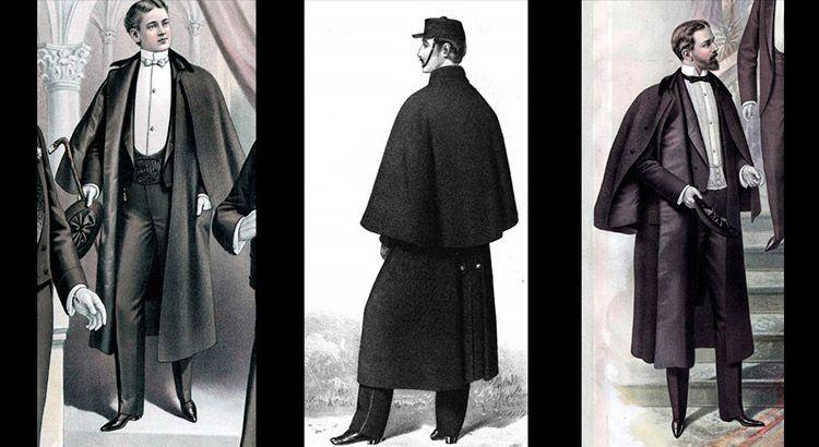 Пальто инвернесс
