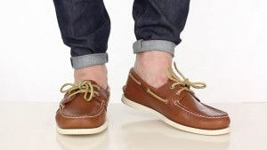 Boat Shoes эффектно смотрятся и надетыми на голую ногу