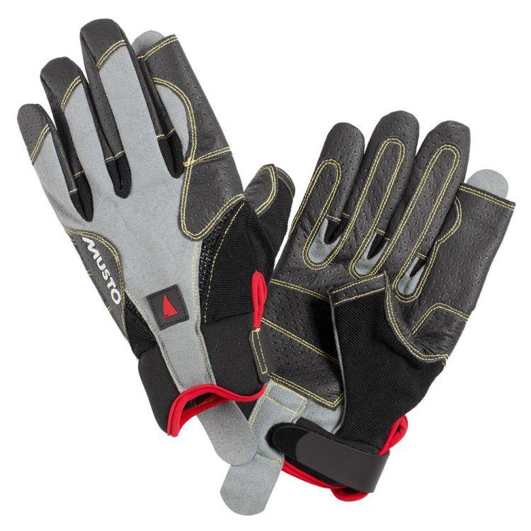 Перчатки для крейсерных гонок с укороченными указательным и большим пальцами
