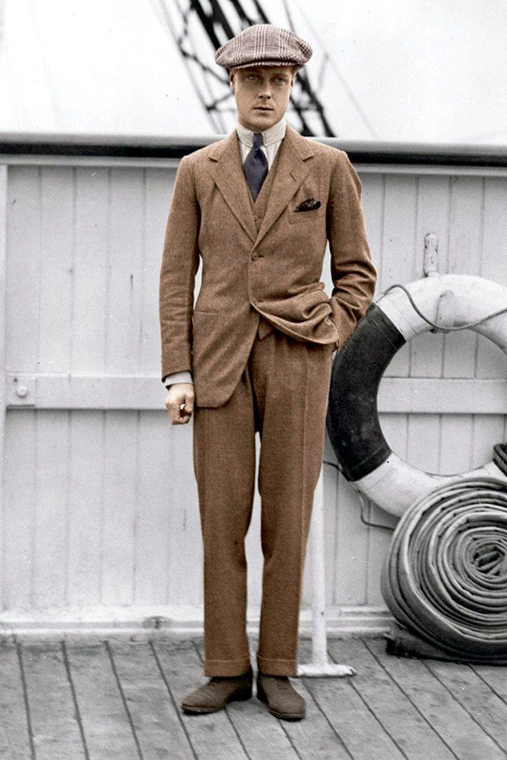 Принц Эдуард был поклонником коричневой обуви