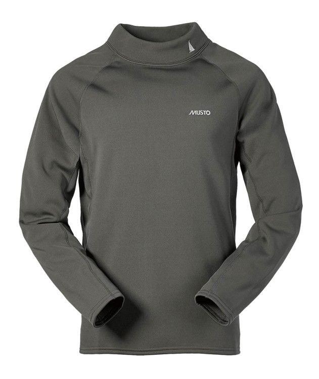 Удобная куртка из термофлиса с водоотталкивающей пропиткой без застежки (средний слой)