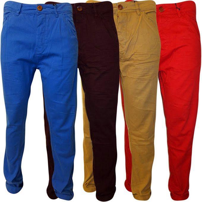Мужские брюки чинос - разнообразие доступных расцветок
