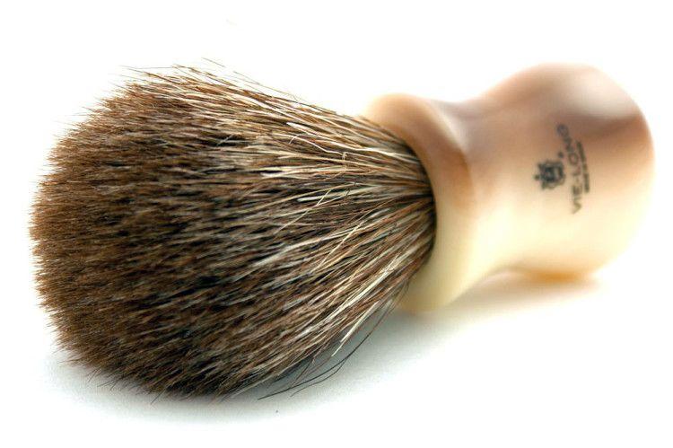 Помазок для бритья с кистью из конского волоса