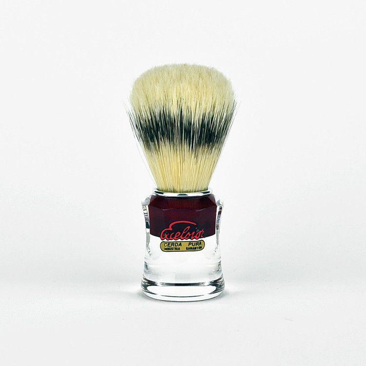 Помазок для бритья с кистью из щетины кабана