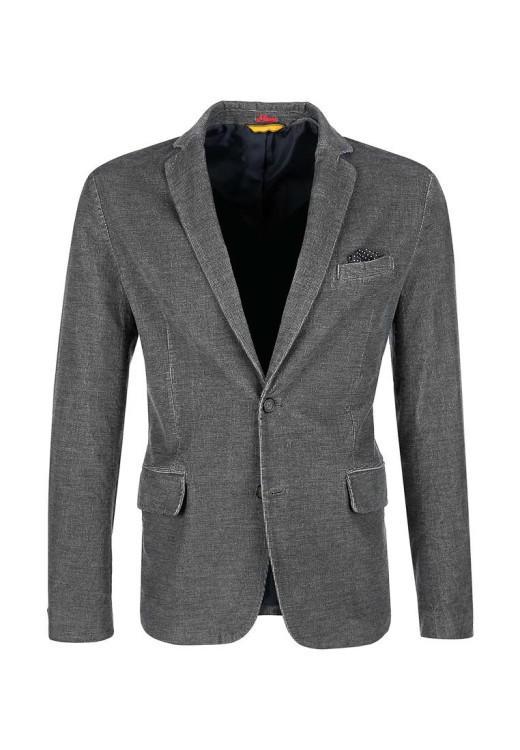 Пиджак s.Oliver из хлопкового текстиля