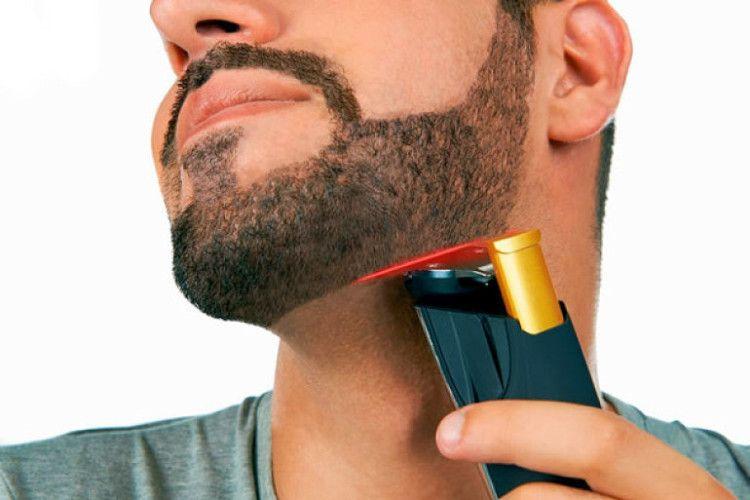 Триммер для бороды BeardTrimmer 9000 с лазерной направляющей от компании Philips