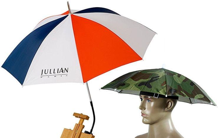 Зонт сможет уберечь от чрезмерных солнечных лучей