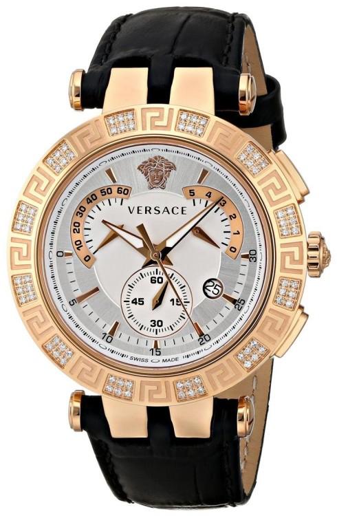 Мужские часы от Versace - лаконичная форма с роскошными, но гармонично вписанными деталями декора