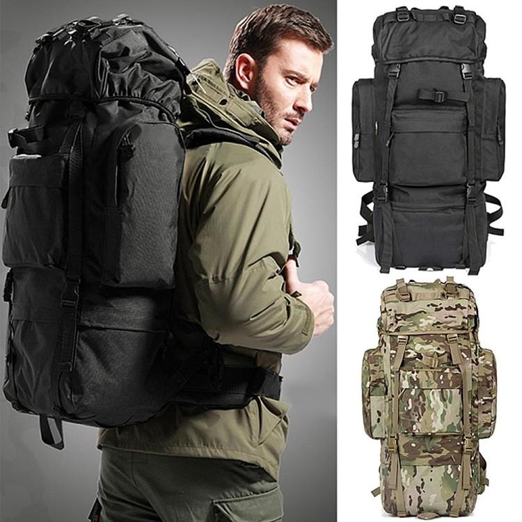 Мужской рюкзак для экстремальных видов туризма - множество необходимых отделений и карманов, а также дополнительно усиленная конструкция и износоустойчивая ткань