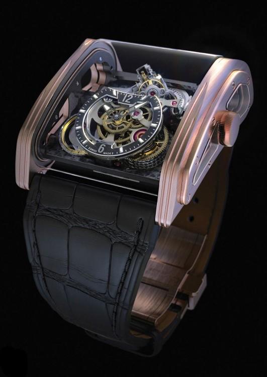 Наручные часы для мужчин Cabestan Triple Axis Tourbillon - для истинных ценителей оригинального стиля