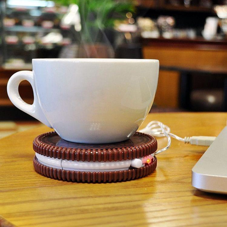 USB-подогреватель для кружки позволит чаю или кофе как можно дольше оставаться горячими