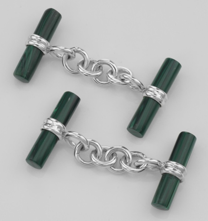 Запонки с механизмом Chain Cufflink