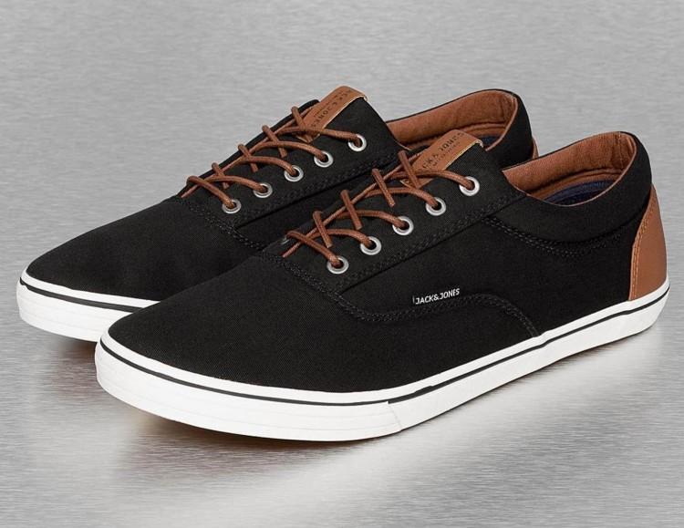 Jack Jones - стильные кроссовки из парусины