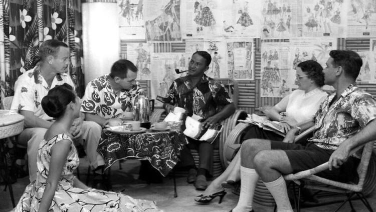 История гавайской рубашки насчитывает уже около ста лет