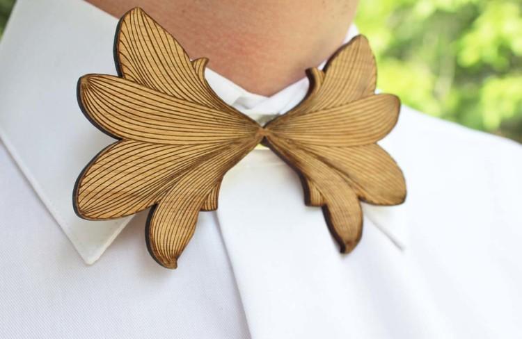 Деревянная бабочка – превосходное решение для творческих мероприятий