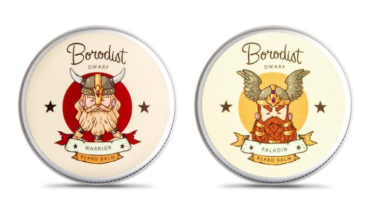 Идеи многих упаковок Borodist идут из фэнтези