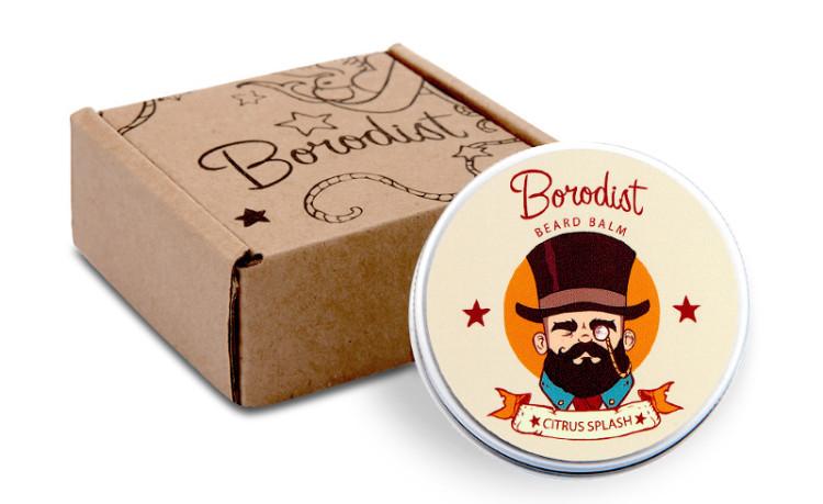 У бренда Borodist быстро сформировался узнаваемый фирменный стиль